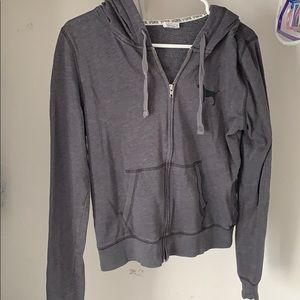 Pink, Victoria's Secret zip up hoodie